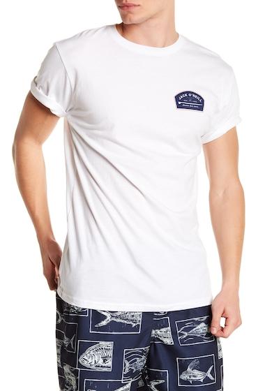 Imbracaminte Barbati ONeill Longboard Short Sleeve Tee WHITE