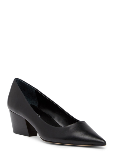 Incaltaminte Femei Donald Pliner Anni Pointed Toe Leather Pump BLACK