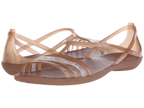 Incaltaminte Femei Crocs Isabella Sandal Bronze