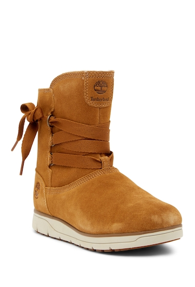 Incaltaminte Femei Timberland Leighland Pull-On Waterproof Boot TRAPPER TAN