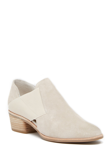 Incaltaminte Femei Dolce Vita Kaeleen Banded Suede Slip-On Bootie LT TAUPE SUEDE