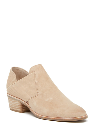 Incaltaminte Femei Dolce Vita Kaeleen Banded Suede Slip-On Bootie BLUSH SUEDE