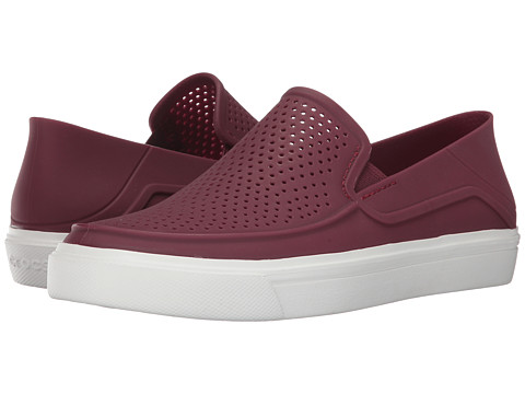 Incaltaminte Femei Crocs CitiLane Roka Slip-On Garnet