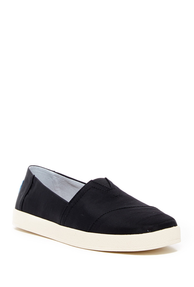 Incaltaminte Femei TOMS Avalon Nylon Slip-On Sneaker BLACK