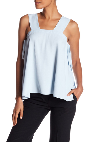 Imbracaminte Femei Helmut Lang Side Tie Square Top SELENITE