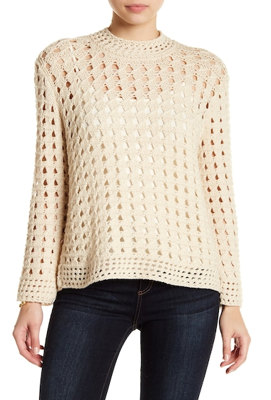 Imbracaminte Femei Joie Macha Open Knit Sweater NATURAL