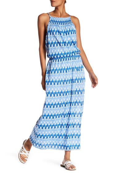 Imbracaminte Femei Soft Joie Kimi Printed Maxi Dress VICTORIA BLUE