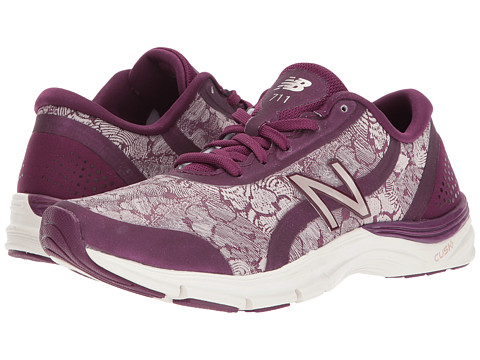 Incaltaminte Femei New Balance WX711v3 Dark MulberryFaded Rose