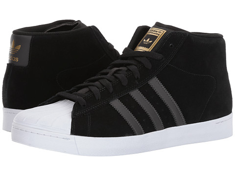 Incaltaminte Barbati adidas Pro Model Vulc Core BlackUtility BlackGold Metallic
