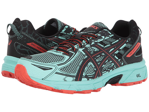 Incaltaminte Femei ASICS GEL-Venturereg 6 Ice GreenBlackCherry Tomato