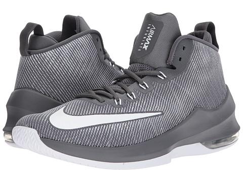 Incaltaminte Barbati Nike Air Max Infuriate Mid Dark GreyWhiteWolf Grey