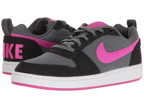 Incaltaminte Femei Nike Court Borough Low Premium Dark GreyFire PinkBlackWhite