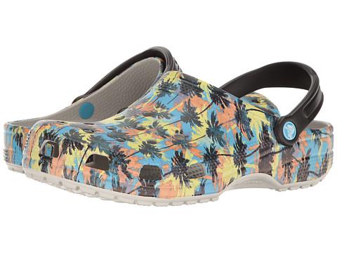 Incaltaminte Femei Crocs Classic Tropics Clog Pearl White