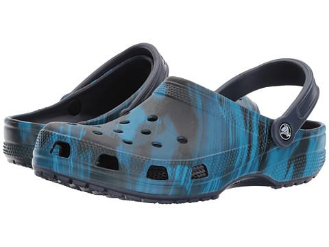 Incaltaminte Femei Crocs Classic Graphic Clog Blue Jean