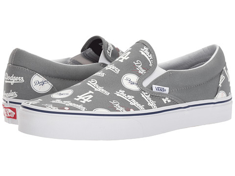 Incaltaminte Femei Vans Classic Slip-On x MLB Collaboration (MLB) Los AngelesDodgersGray