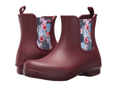 Incaltaminte Femei Crocs Freesail Chelsea Boot Garnet
