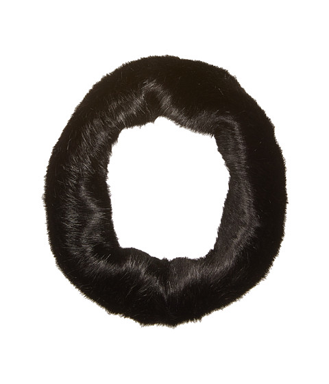 Accesorii Femei Echo Design Solid Faux Fur Neckwarmer Black