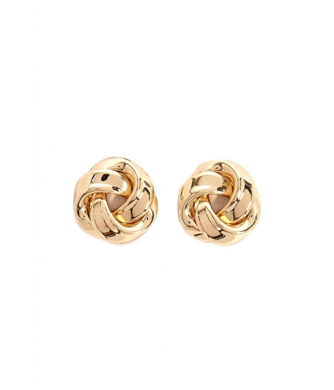 Bijuterii Femei Forever21 Knotted Stud Earrings GOLD
