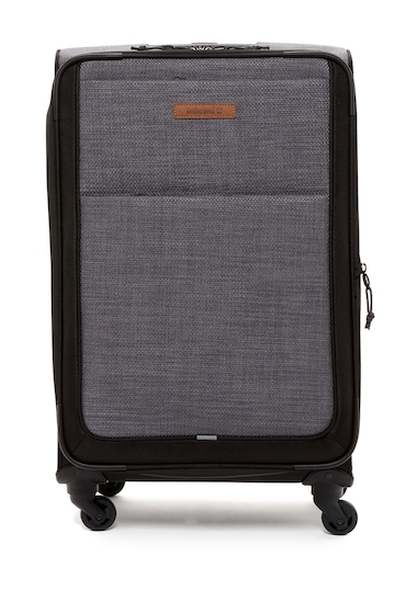 Genti Femei Timberland Topsfield 24 Expandable Spinner Suitcase FORGED IRON