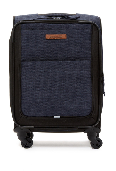 Genti Femei Timberland Topsfield 28 Expandable Spinner Suitcase DARK DENIM