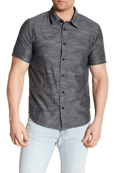 Imbracaminte Barbati ONeill Walkabout Classic Fit Short Sleeve Shirt BLACK