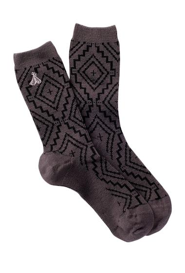 Accesorii Femei Pendleton Sunset Cross Crew Socks GREY