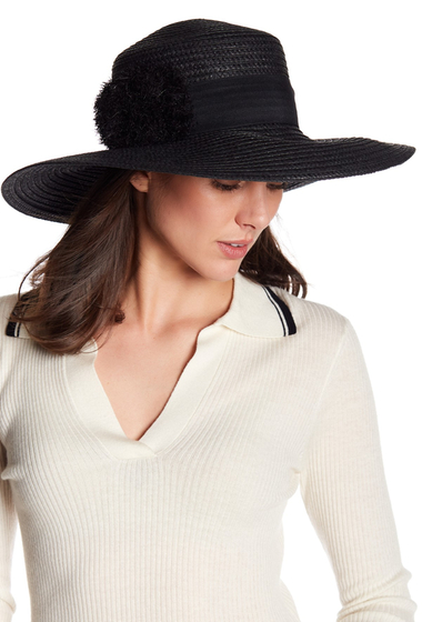 Accesorii Femei August Hats Vacation Ready Widebrim BLACK