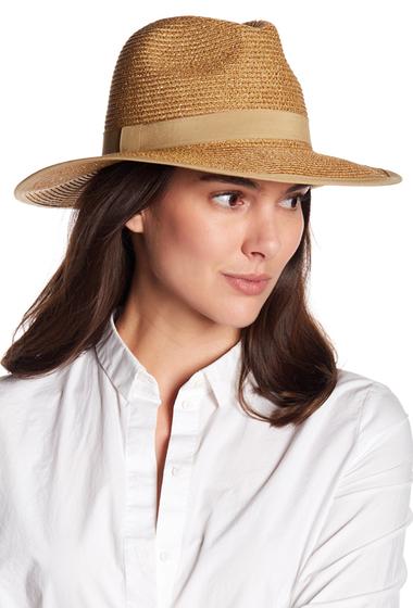 Accesorii Femei August Hats Gold Rush Fedora NATGOLD