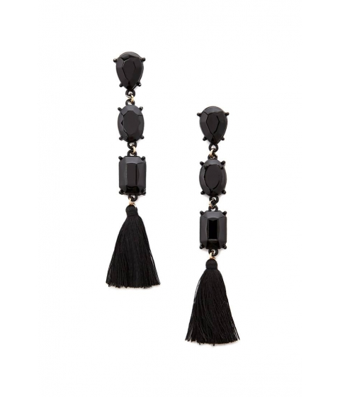 Bijuterii Femei Forever21 Tiered Drop Earrings BLACK