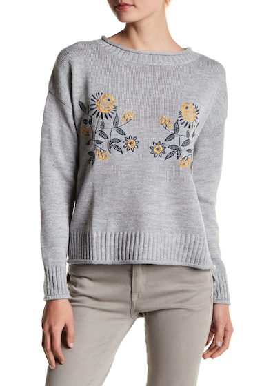 Imbracaminte Femei Jealous Tomato Embroidered Knit Sweater GREY