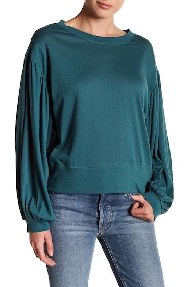Imbracaminte Femei Abound Oversized Sleeve Sweater GREEN JASPER