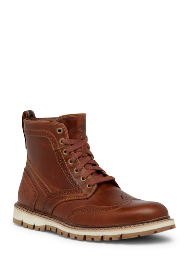 Incaltaminte Barbati Timberland Briton Hill Wingtip Boot TAN