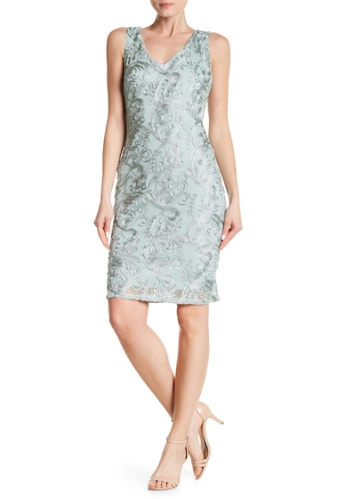 Imbracaminte Femei Marina Twisted Embroidery Dress MINT