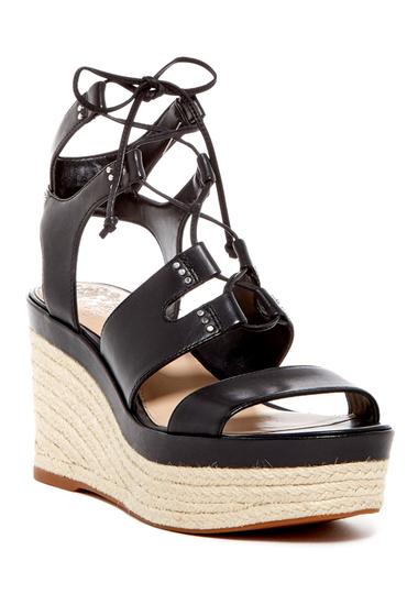 Incaltaminte Femei Vince Camuto Katila Lace-Up Espadrille Platform Wedge Sandal OXFORD