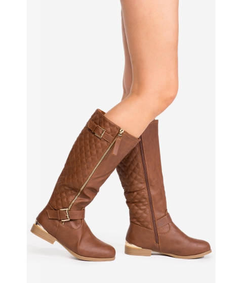 Incaltaminte Femei CheapChic Walk For Days Boot Cognac