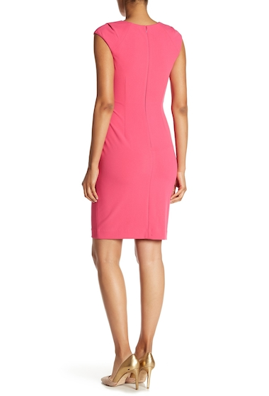 Imbracaminte Femei Modern American Designer Horseshoe Neck Stretch Dress CABARET