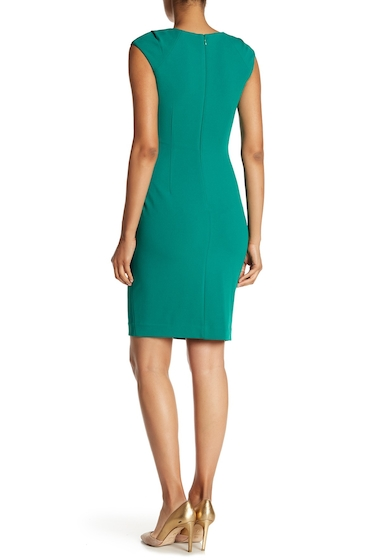 Imbracaminte Femei Modern American Designer Horseshoe Neck Stretch Dress MEADOW