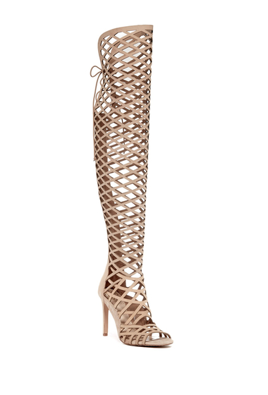 Incaltaminte Femei Vince Camuto Keliana Over-the-Knee Caged Sandal OAT 01