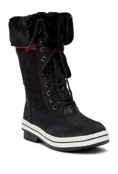 Incaltaminte Femei Madden Girl Cydny Faux Fur Tim Winter Boot BLACK MULT