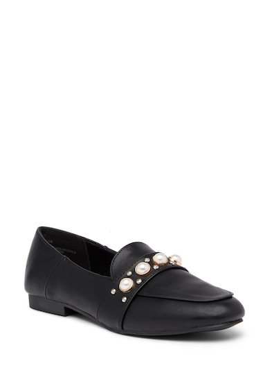 Incaltaminte Femei Madden Girl Olive Embellished Loafer BLACK PARI