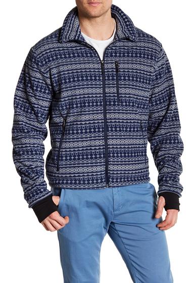 Imbracaminte Barbati Hawke Co Front Zip Fleece Jacket GREY NORDI