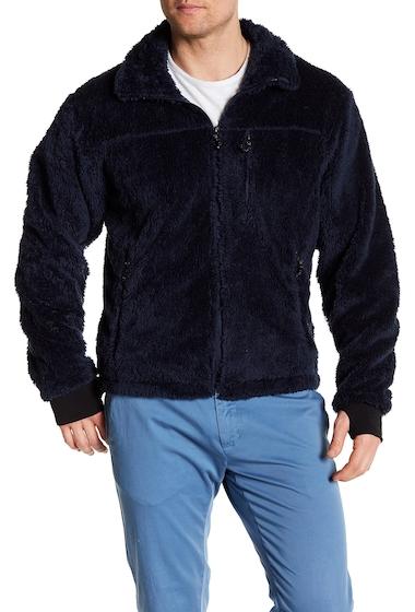 Imbracaminte Barbati Hawke Co Front Zip Fleece Jacket DARK SEA