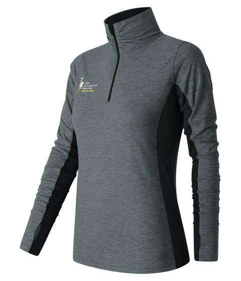 Incaltaminte Femei New Balance Womens NYC Marathon Training 14 Zip Black with Grey