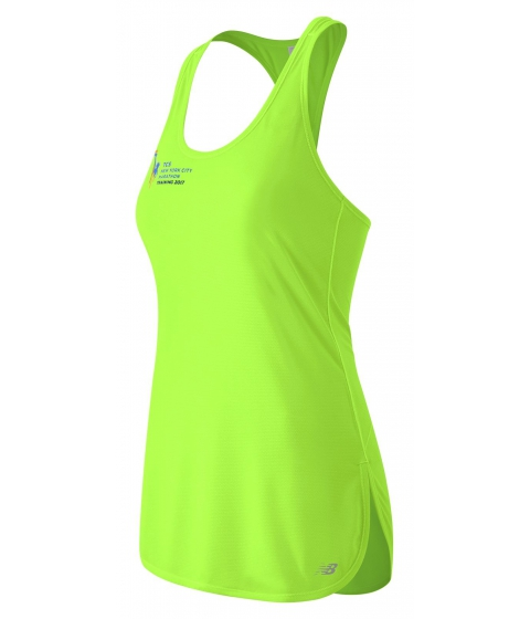Incaltaminte Femei New Balance Womens NYC Marathon Training Tunic Tank Green