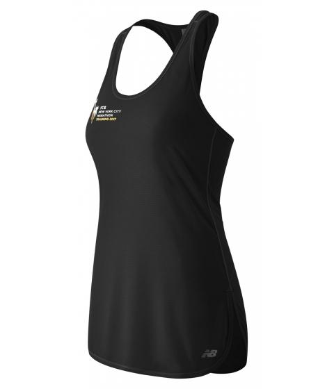 Incaltaminte Femei New Balance Womens NYC Marathon Training Tunic Tank Black