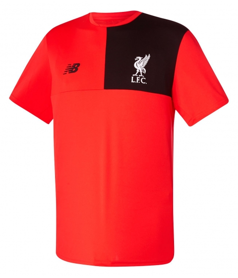 Imbracaminte Barbati New Balance LFC Mens Elite Training SS Jersey Red
