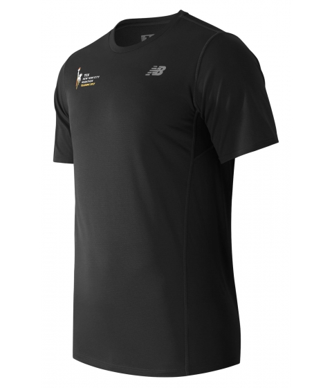 Imbracaminte Barbati New Balance Mens NYC Marathon Training SS Tee Black