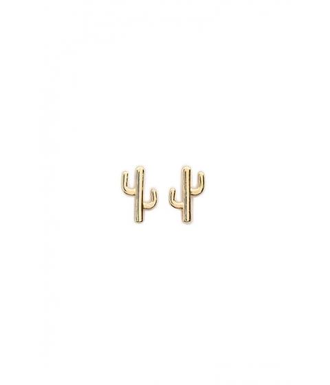 Bijuterii Femei Forever21 Cactus Stud Earrings GOLD