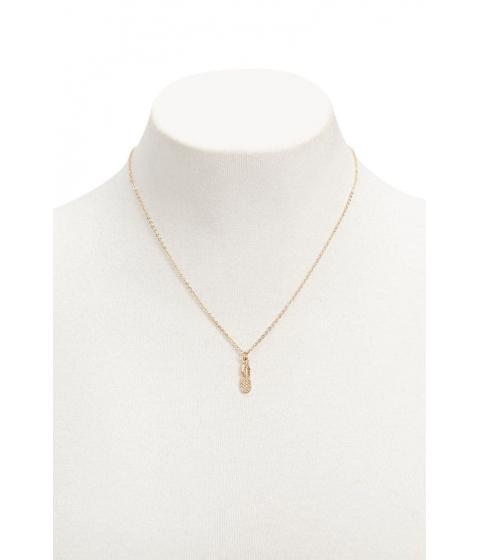 Bijuterii Femei Forever21 Pineapple Pendant Necklace GOLD