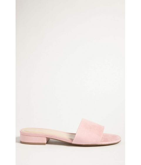 Incaltaminte Femei Forever21 Faux Suede Slide Sandals PINK